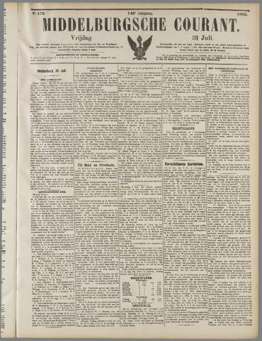 Middelburgsche Courant 1903-07-31