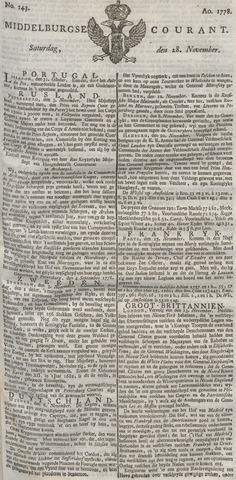 Middelburgsche Courant 1778-11-28