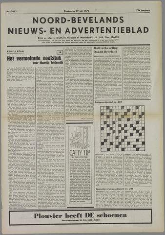 Noord-Bevelands Nieuws- en advertentieblad 1972-07-27