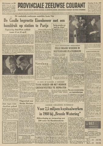 Provinciale Zeeuwse Courant 1959-12-19