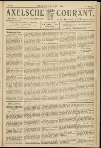 Axelsche Courant 1926-03-09