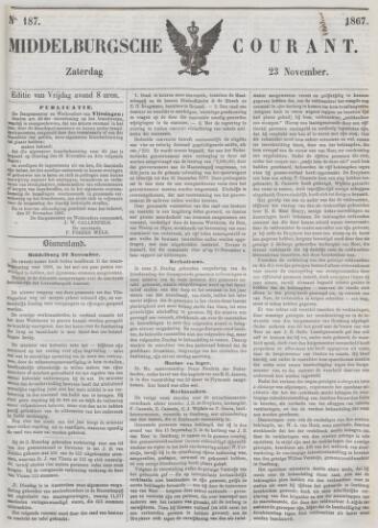 Middelburgsche Courant 1867-11-23
