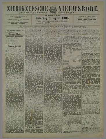 Zierikzeesche Nieuwsbode 1905-04-01