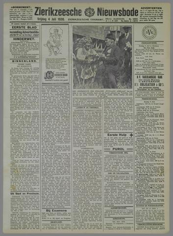 Zierikzeesche Nieuwsbode 1930-07-04