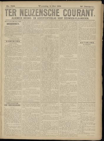 Ter Neuzensche Courant. Algemeen Nieuws- en Advertentieblad voor Zeeuwsch-Vlaanderen / Neuzensche Courant ... (idem) / (Algemeen) nieuws en advertentieblad voor Zeeuwsch-Vlaanderen 1924-05-14