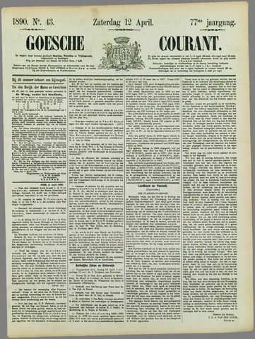 Goessche Courant 1890-04-12