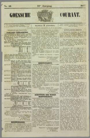Goessche Courant 1857-08-03