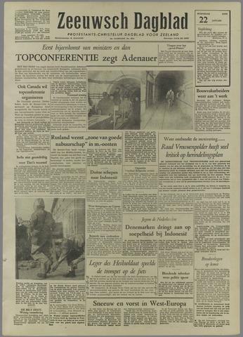 Zeeuwsch Dagblad 1958-01-22