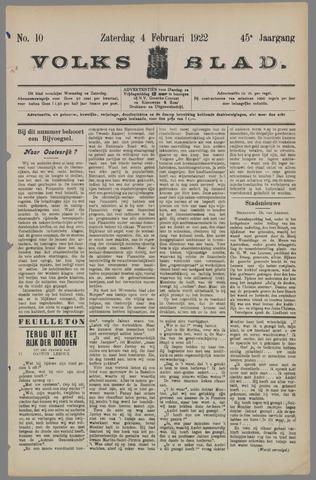 Volksblad 1922-02-04