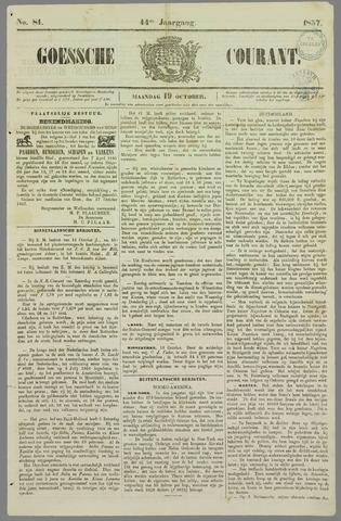 Goessche Courant 1857-10-19