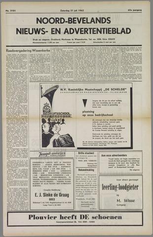 Noord-Bevelands Nieuws- en advertentieblad 1962-07-21