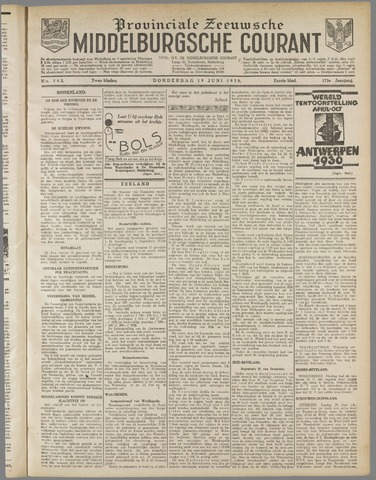 Middelburgsche Courant 1930-06-19