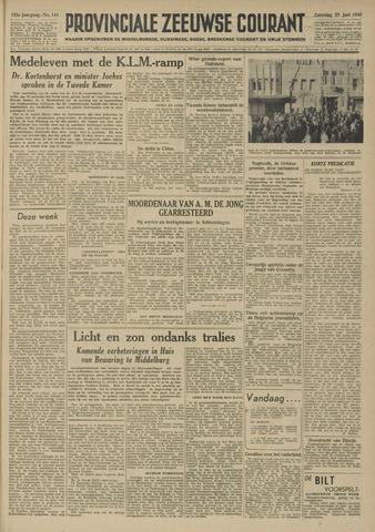 Provinciale Zeeuwse Courant 1949-06-25