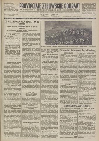 Provinciale Zeeuwse Courant 1941-07-11