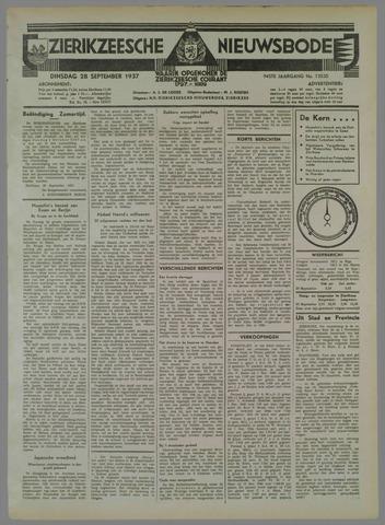 Zierikzeesche Nieuwsbode 1937-09-28