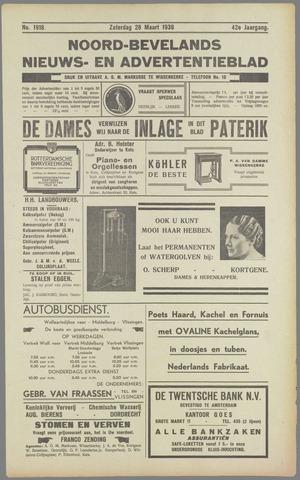 Noord-Bevelands Nieuws- en advertentieblad 1936-03-28