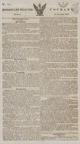 Middelburgsche Courant 1834-11-25