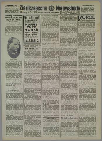 Zierikzeesche Nieuwsbode 1933-10-30