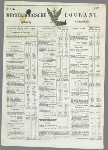 Middelburgsche Courant 1865-09-09