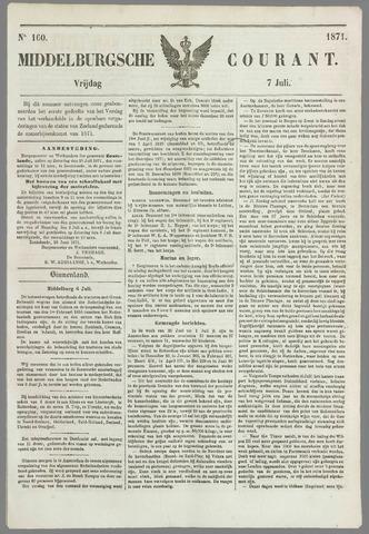 Middelburgsche Courant 1871-07-07