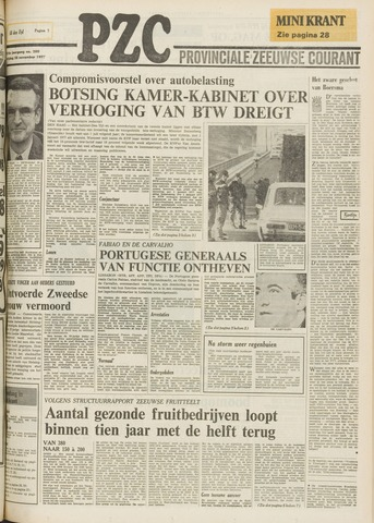 Provinciale Zeeuwse Courant 1975-11-28