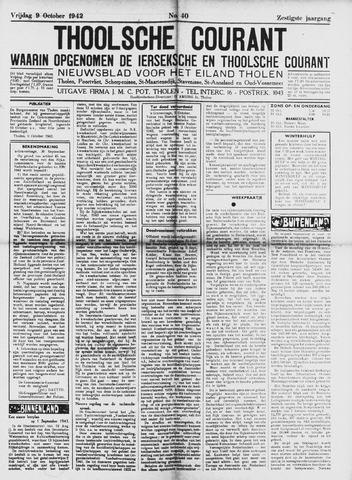 Ierseksche en Thoolsche Courant 1942-10-09