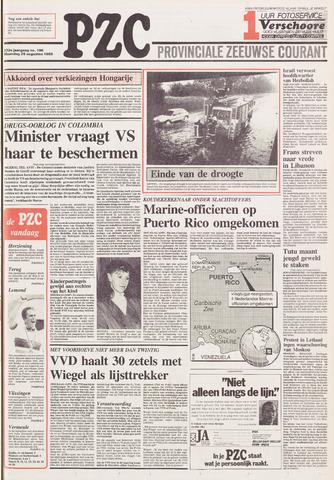 Provinciale Zeeuwse Courant 1989-08-28