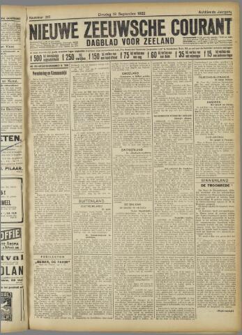 Nieuwe Zeeuwsche Courant 1922-09-19
