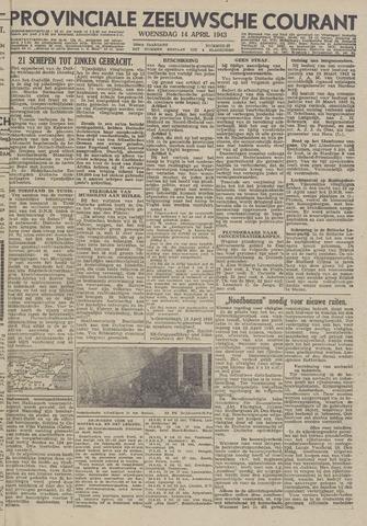 Provinciale Zeeuwse Courant 1943-04-14