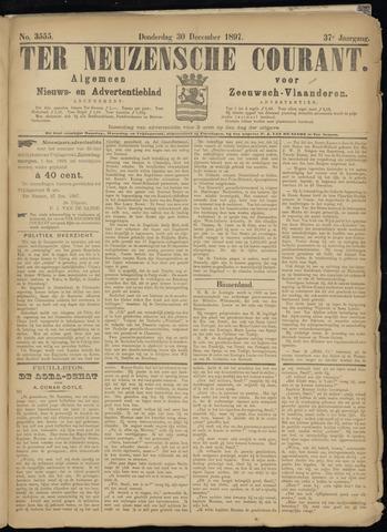 Ter Neuzensche Courant. Algemeen Nieuws- en Advertentieblad voor Zeeuwsch-Vlaanderen / Neuzensche Courant ... (idem) / (Algemeen) nieuws en advertentieblad voor Zeeuwsch-Vlaanderen 1897-12-30