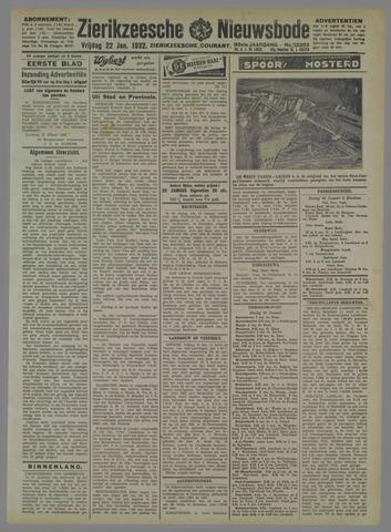 Zierikzeesche Nieuwsbode 1932-01-22