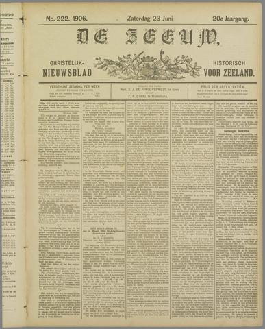 De Zeeuw. Christelijk-historisch nieuwsblad voor Zeeland 1906-06-23