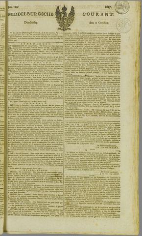 Middelburgsche Courant 1817-10-02