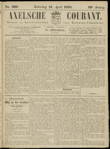Axelsche Courant 1894-04-21