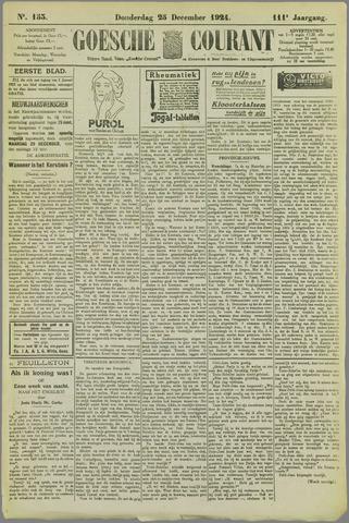 Goessche Courant 1924-12-25
