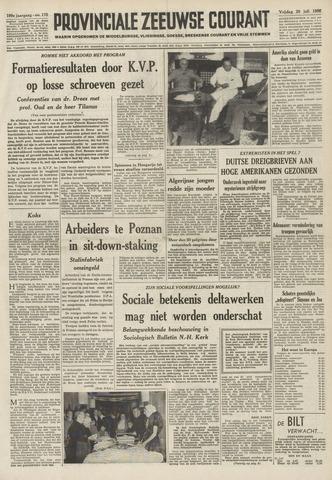 Provinciale Zeeuwse Courant 1956-07-20