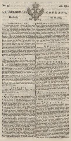 Middelburgsche Courant 1764-05-17