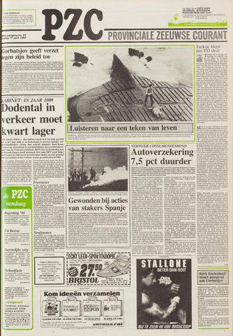 Provinciale Zeeuwse Courant 1987-04-17