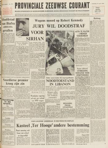 Provinciale Zeeuwse Courant 1969-04-24