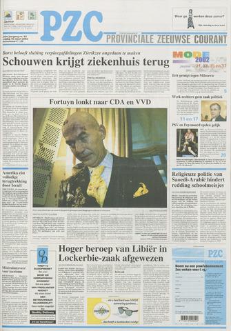 Provinciale Zeeuwse Courant 2002-03-15
