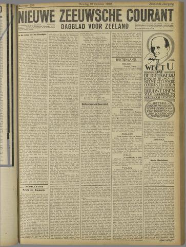 Nieuwe Zeeuwsche Courant 1920-10-19
