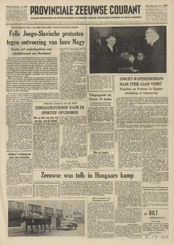 Provinciale Zeeuwse Courant 1956-11-26