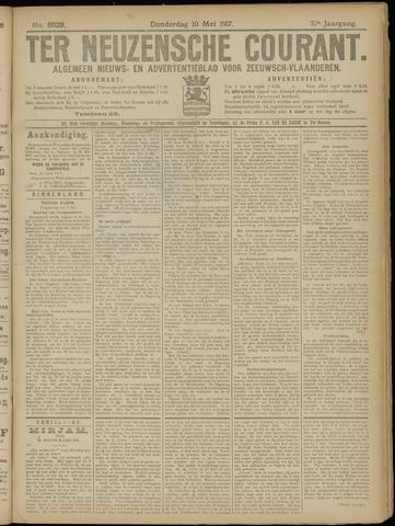 Ter Neuzensche Courant. Algemeen Nieuws- en Advertentieblad voor Zeeuwsch-Vlaanderen / Neuzensche Courant ... (idem) / (Algemeen) nieuws en advertentieblad voor Zeeuwsch-Vlaanderen 1917-05-10