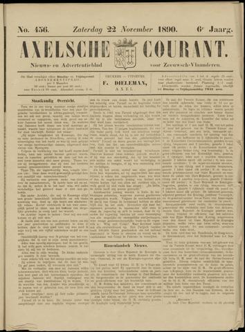 Axelsche Courant 1890-11-22