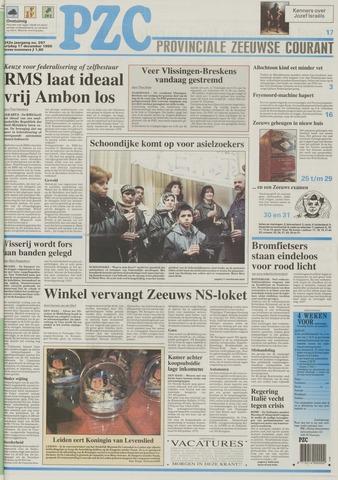 Provinciale Zeeuwse Courant 1999-12-17