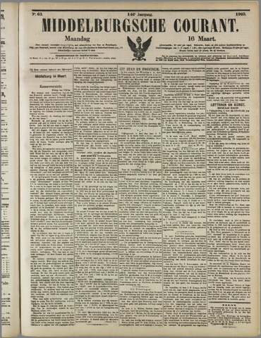 Middelburgsche Courant 1903-03-16