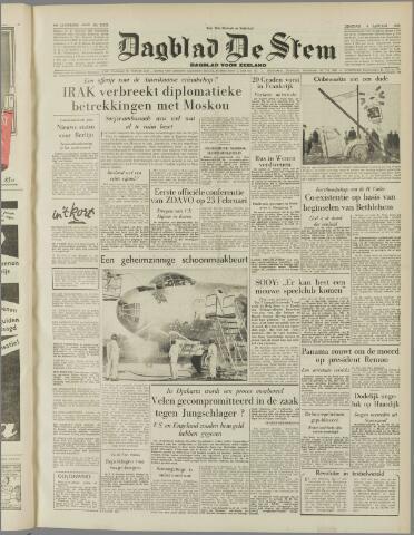 de Stem 1955-01-04