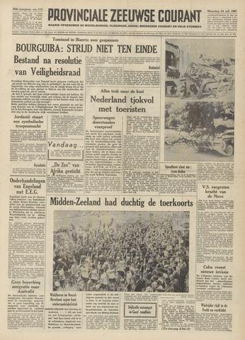 Provinciale Zeeuwse Courant 1961-07-24