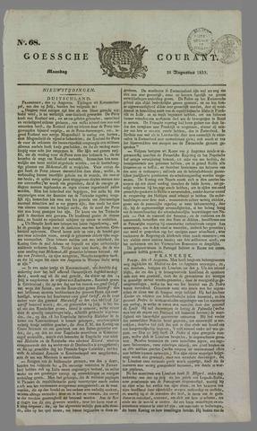 Goessche Courant 1833-08-26