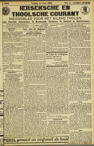Ierseksche en Thoolsche Courant 1929-06-14